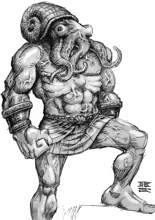 Amygdalan drawing from the original Everquest manual
