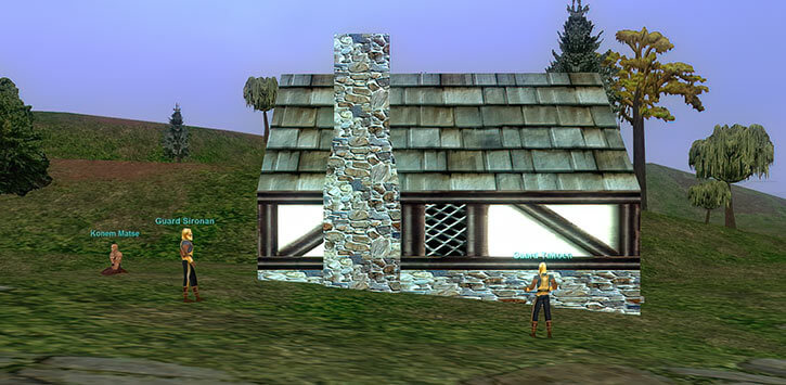 Everquest 1 - house in Qeynos Hills