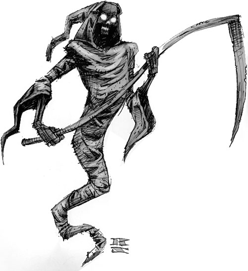 Spectre drawing from the original Everquest manual