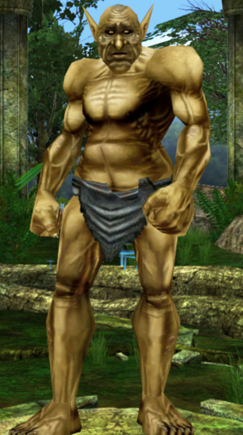 Everquest 1 troll male in loincloth