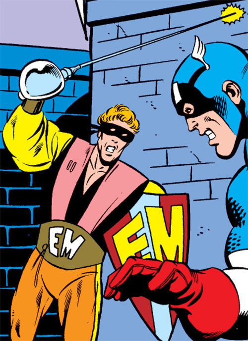 Every-Man aka Everyman - Marvel Comics - Larry Ekler - vs. Captain America