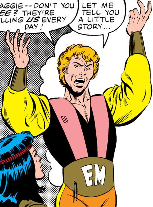 Every-Man aka Everyman - Marvel Comics - Larry Ekler