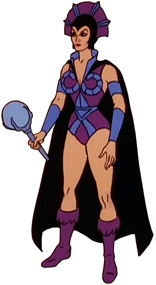 Evil-Lyn (Masters of the Universe cartoon) standing