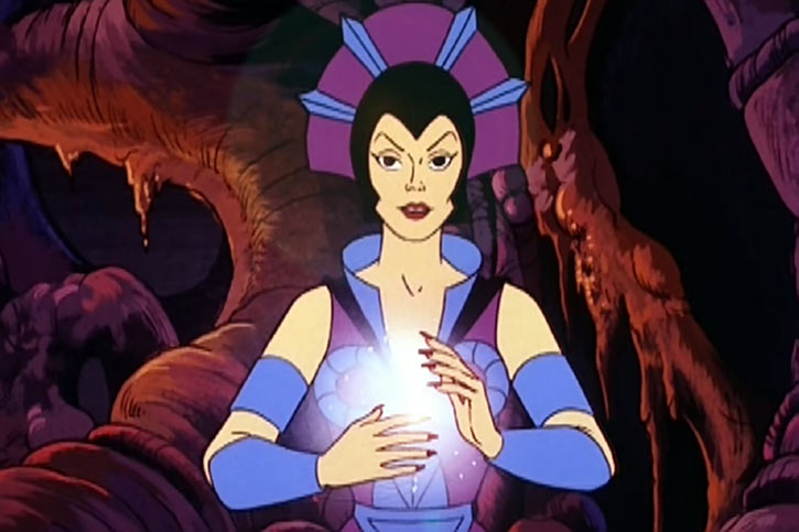 Evil-Lyn (Masters of the Universe cartoon) spell cave