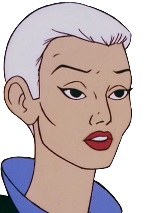 Evil-Lyn (Masters of the Universe cartoon) no helm hair