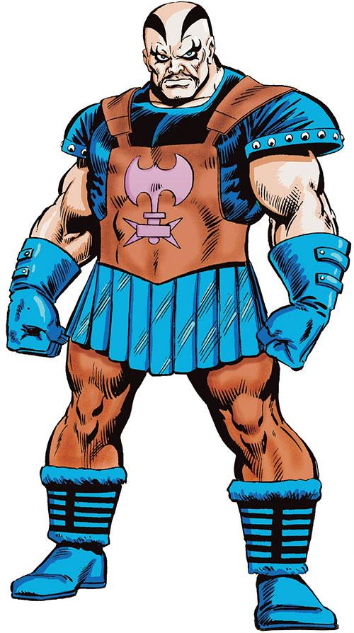 Executioner - Thor enemy - Marvel Comics - Skurge - Early ...