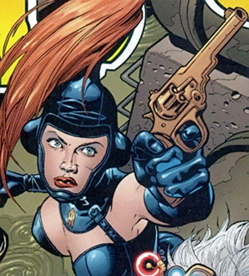 Exterminatrix (Oubliette Midas) (Marvel Boy character) (Marvel comics)