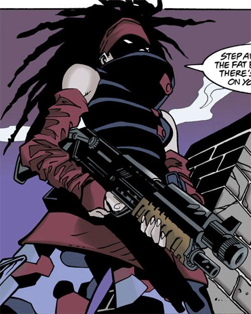 Ezra (Batgirl enemy) (DC Comics)