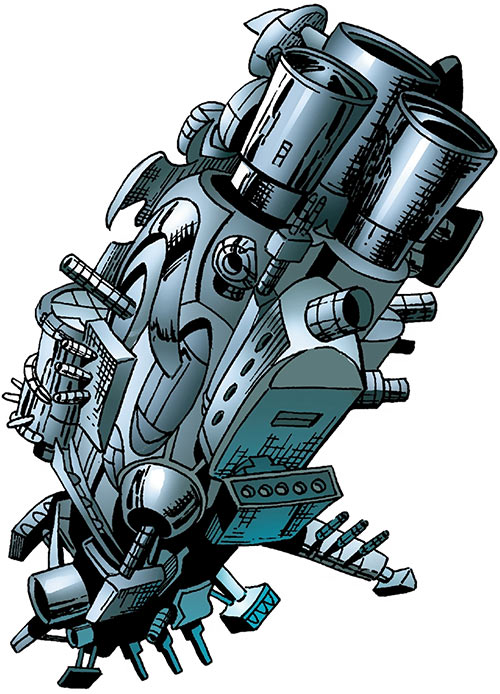 F.A.U.S.T. (FAUST living factory) (Marvel Comics) in spaceworthy form