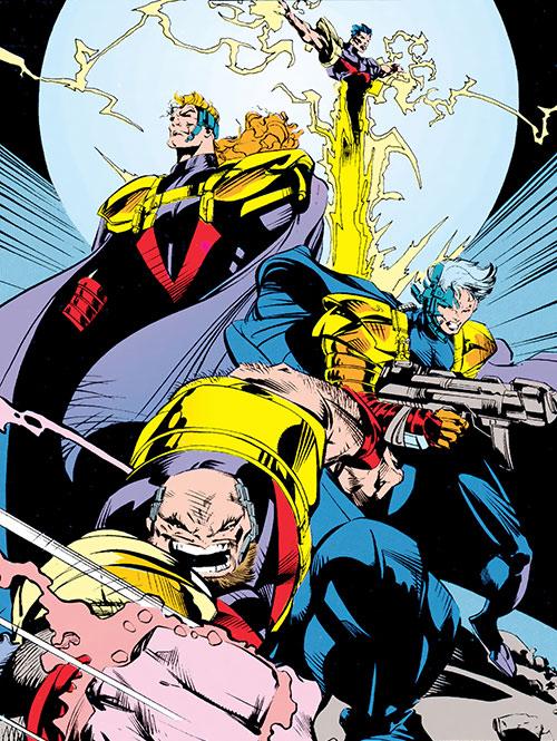 Fabian Cortez (X-Men enemy) (Marvel Comics) and his Acolytes of Magneto
