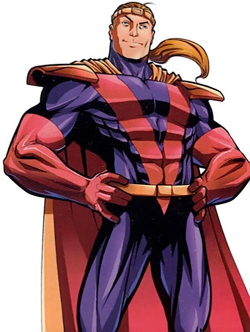 Fabian Cortez (X-Men enemy) (Marvel Comics) smirking