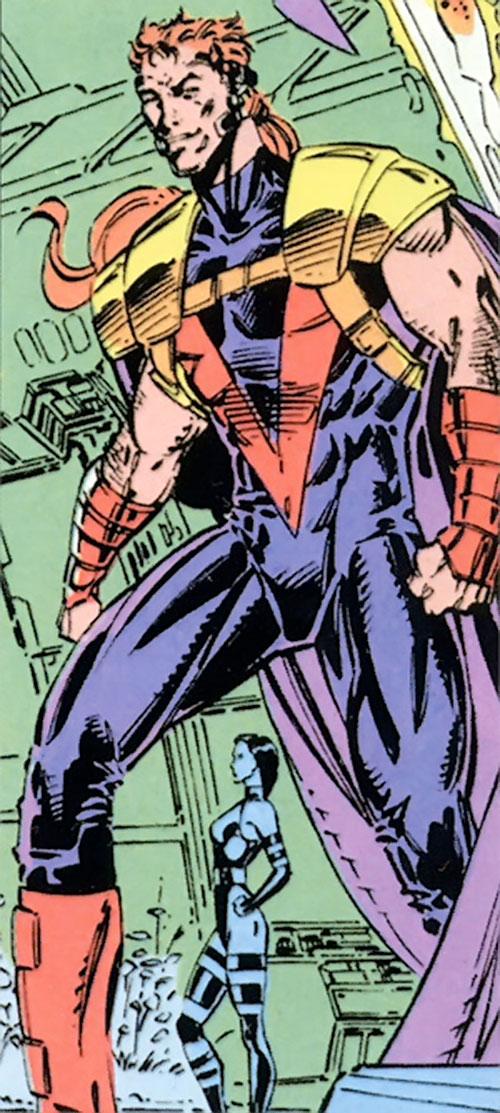 Fabian Cortez (X-Men enemy) (Marvel Comics) and Psylocke