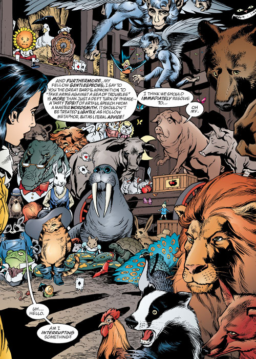 Fabletown (Fables DC Comics) political meeting