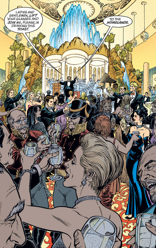 Fabletown (Fables DC Comics) society event