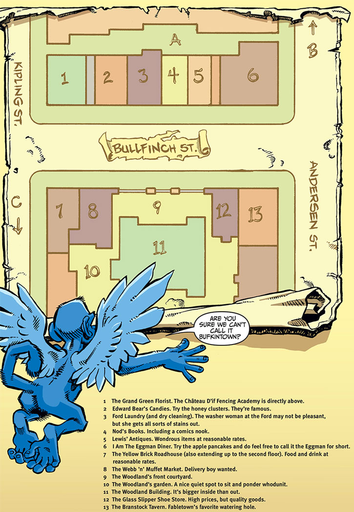 Map of Fabletown