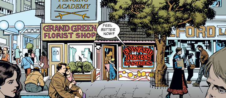 Fabletown boutiques