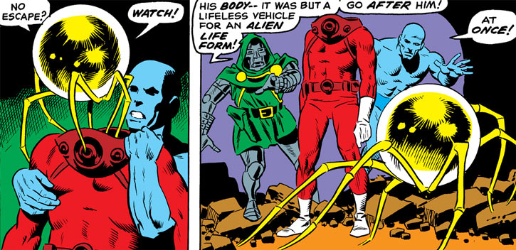 The Faceless One, Doctor Doom and the Doomsman