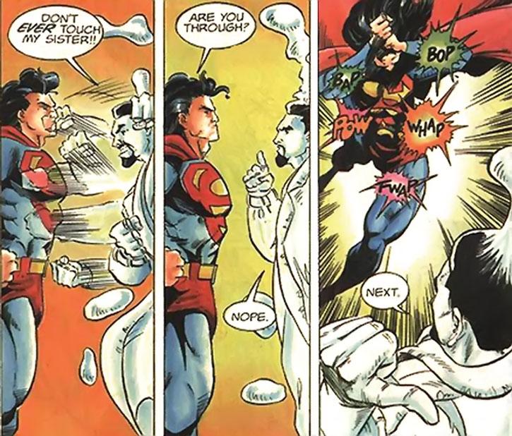 Fade (Carlos Quinones) and Superman