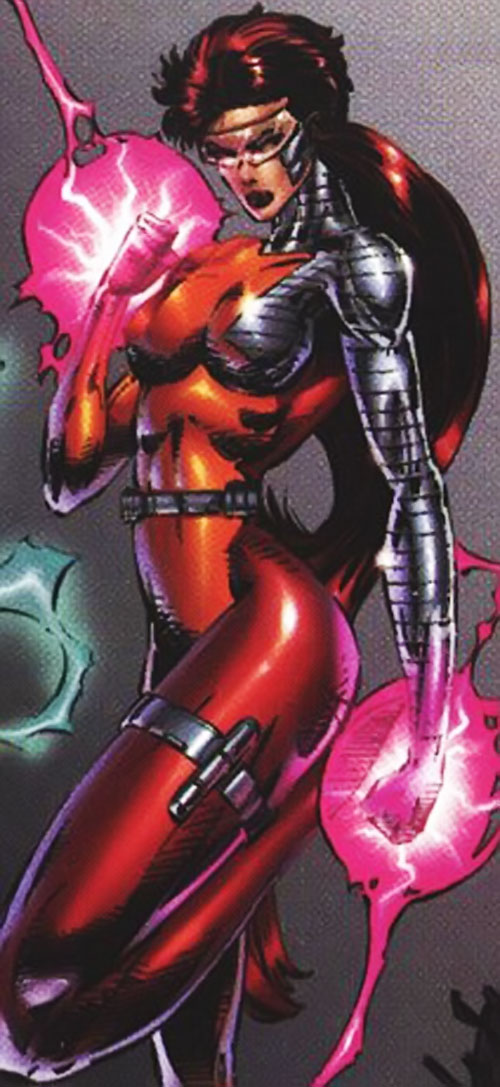 Fahrenheit (Stormwatch) (Wildstorm Comics) in her early costume