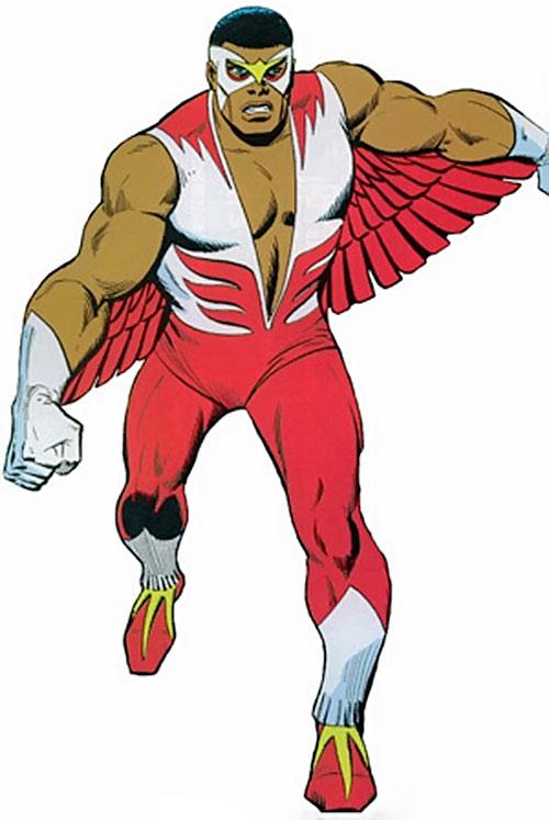 Falcon marvel comics avengers captain america ally - Faucon avengers ...