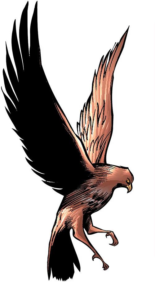 Redwing (Marvel Comics) Falcon's raptor flying landing