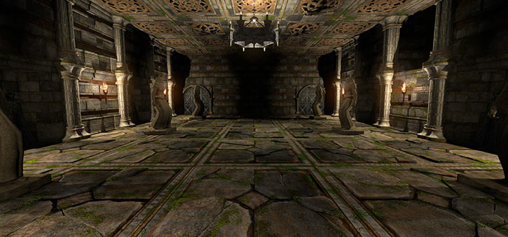 The Fall of the Dungeon Guardians - level 5 screenshot