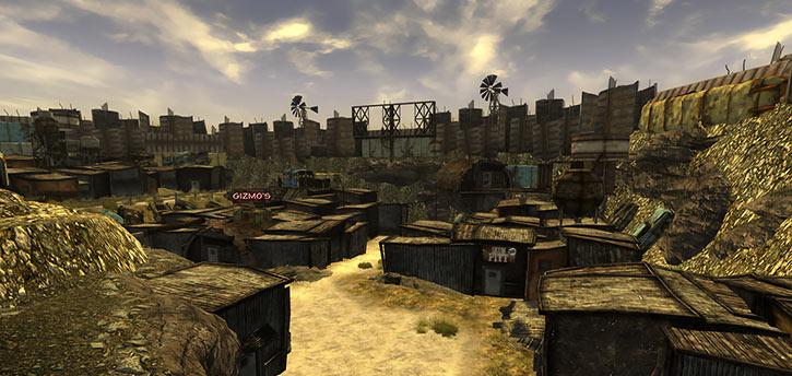 Fallout 1 story mod - junktown, cavalier view