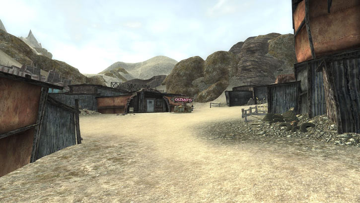 Fallout 1 story mod - Gizmo's place in Junktown