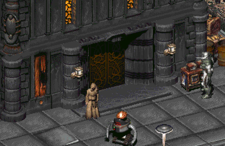 Fallout 2 abbey entrance