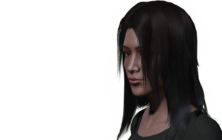 Chosen One (Fallout 1) banner portrait side hair