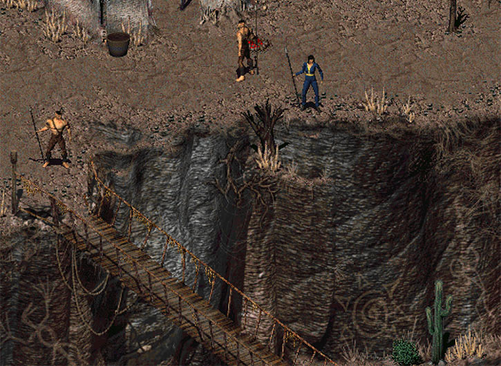 Fallout 2 - the bridge of Arroyo