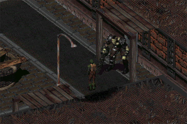 Fallout 2 - Broken Hills - Marcus and the Chosen One