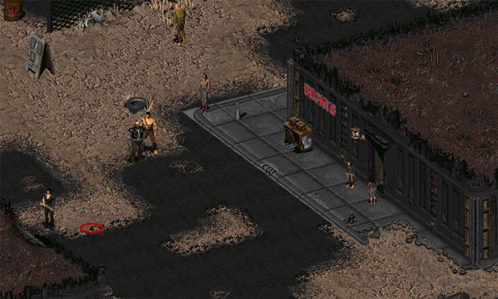 Fallout 2 - Becky's Casino in the Den