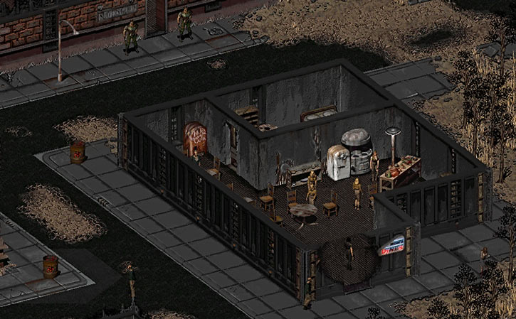 Fallout 2 - Mom's dinner and the slavers' guild