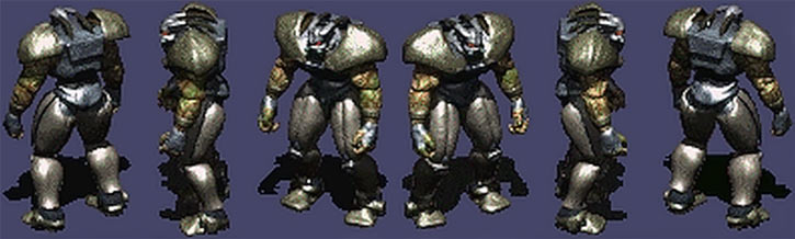 Fallout 2 - Frank Horrigan character model rotation