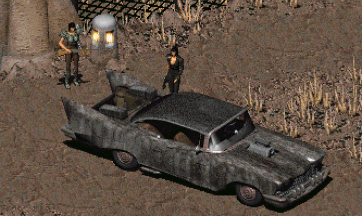 Fallout 2 car - Chrylus Highwayman