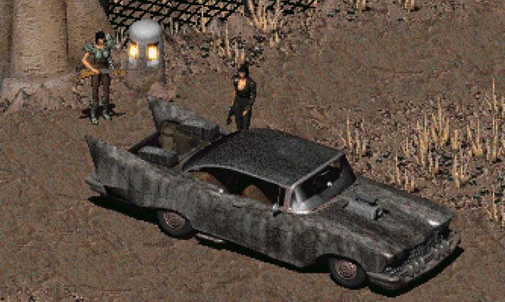 Fallout 2 car - Chrylus Highwayman