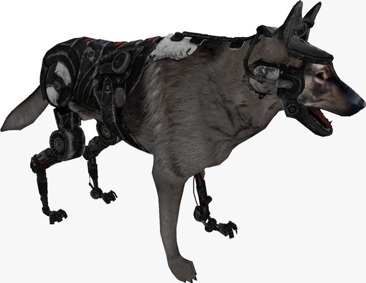 Fallout 2 K-9 cyberdog model large