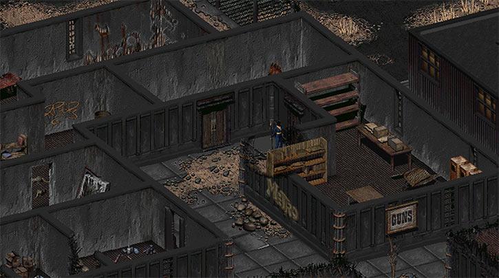 Fallout 2 - Klamath - Gun shop