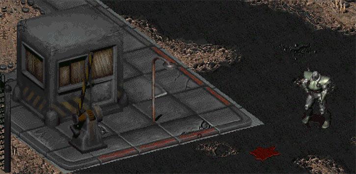 Fallout 2 Mariposa base entrance