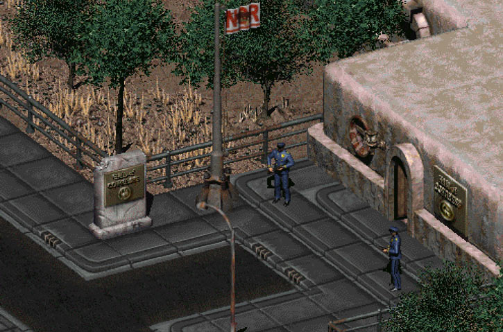 Fallout 2 - NCR seat of government council