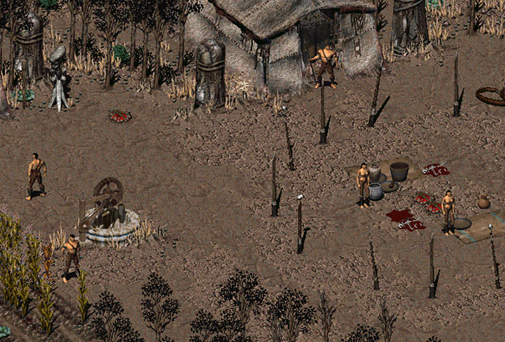Fallout 2 primitive Umbra tribe