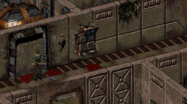 Fallout 2 Vault 15 Khans area