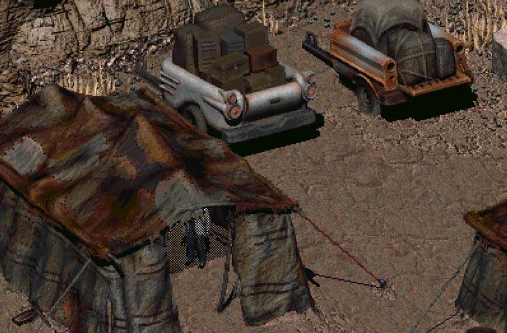 Fallout 2 Vault 15 squat