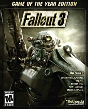Fallout 3 video game of the year cover