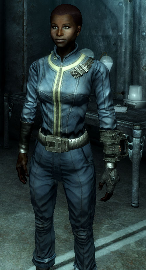 Fallout Lone Wanderer (Athena Griffin) at age 16