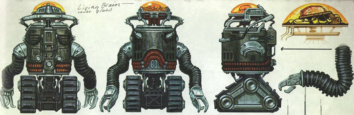 Robobrain Fallout 3 concept art rotation