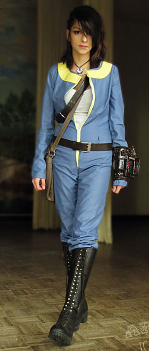 Cosplayer Archaical as the Vault Dweller in Fallout