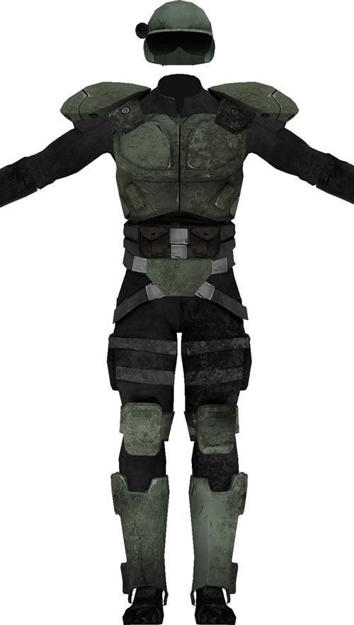 Fallout combat armor