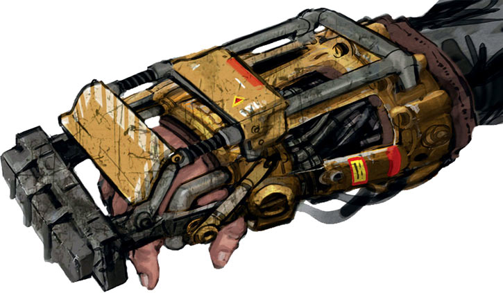 Fallout 4 power fist concept art